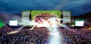 Minibus Latitude Festival
